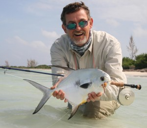 My first permit, Mexico - the hardest fish to catch by fly on the planet, they say